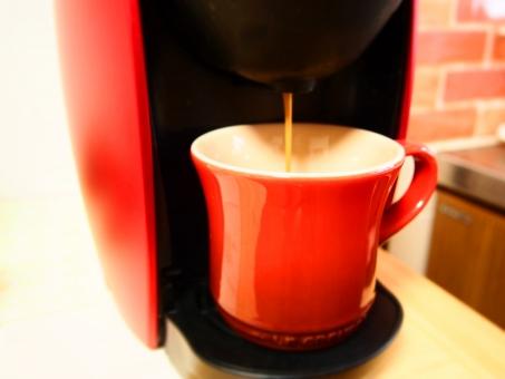 コーヒーマシーン オフィス