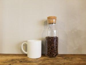 コーヒー豆 瓶保存