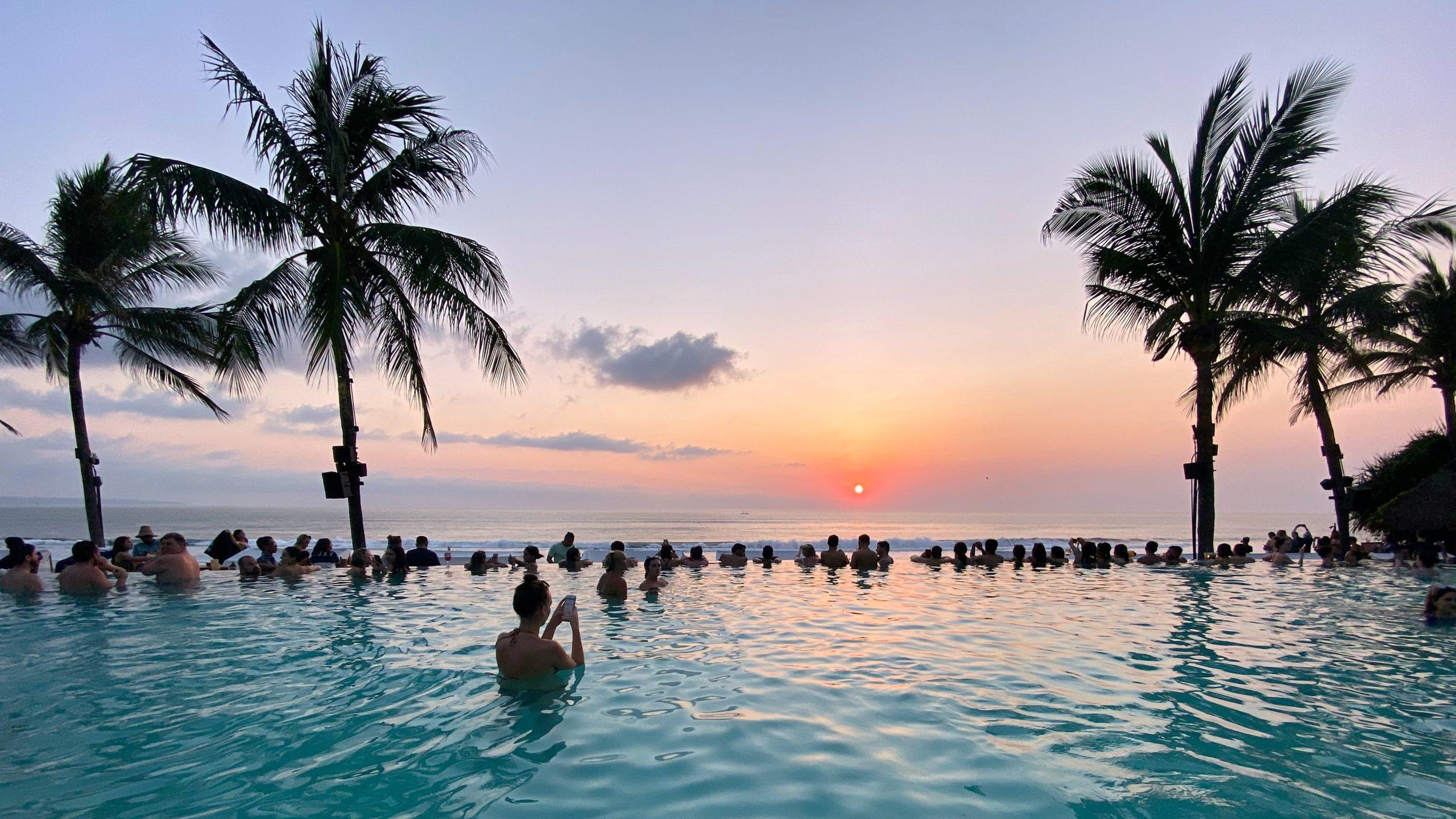 バリ島の温泉
