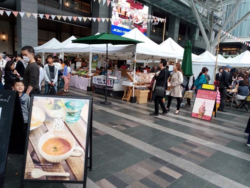 博多ファーマーズマーケット2019年4月開催